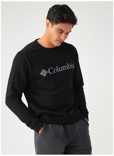 Columbia Columbia CS0091 M Logo Erkek    Sweatshirt Siyah